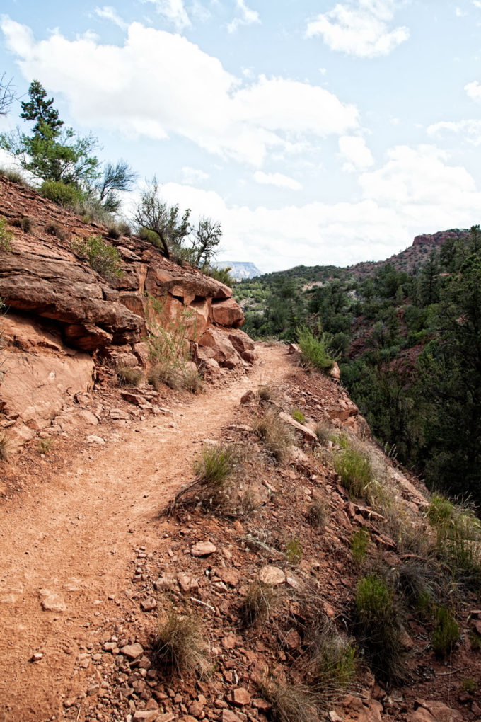 Templeton trail in Sedona