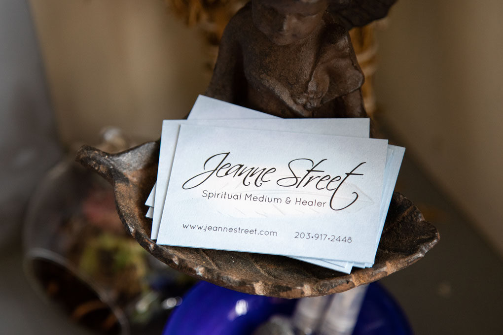 Jeanne Street, spiritual medium, healer, author & speaker